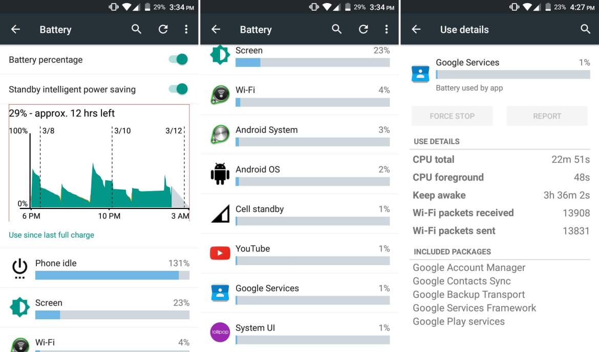 Google Play services battery drain issue