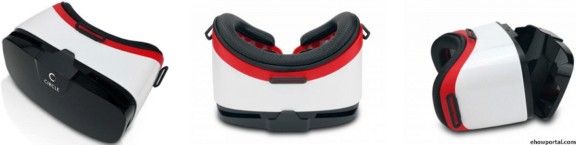 Circle VR Headset Virtual Reality 3D Glasses