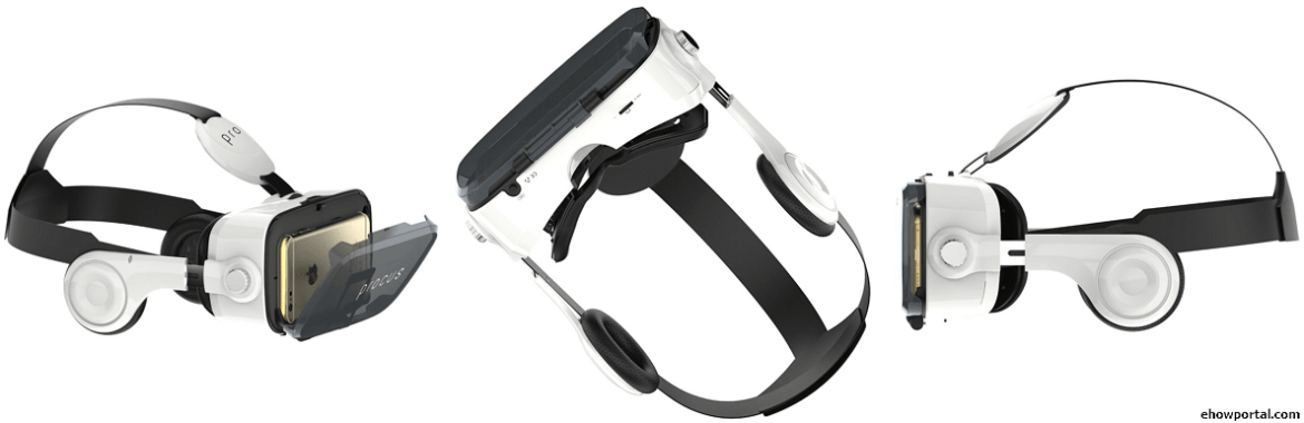 Procus PRO (New) VR Headset with Inbuilt Headphones