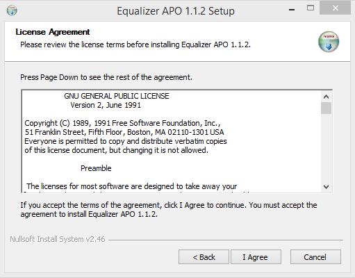 installation License Agreement