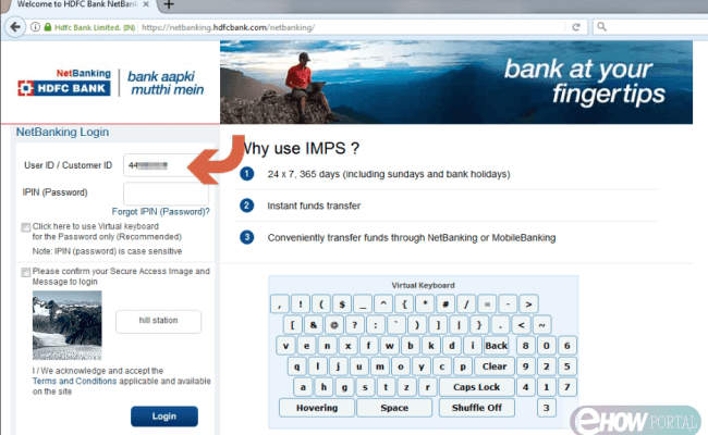 How To Add Beneficiary In Hdfc Netbanking