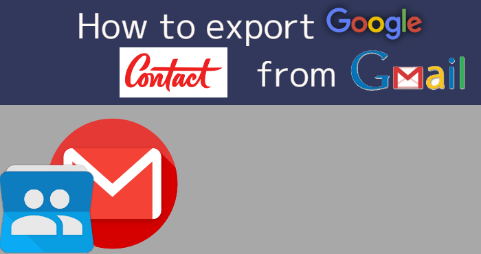 How to export google contact from gmail