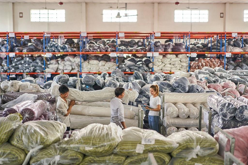 Ho Chi Minh City Textile Photographer