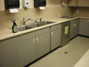 Federal Center South Daycare Kitchen Mold and Moisture