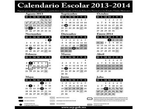 Publica la SEP calendario escolar 2013-2014
