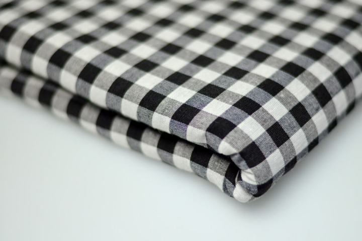 White Black Gingham | Buy Cotton Turban Cloth