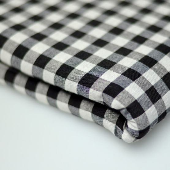 White Black Gingham | Buy Cotton Turban Cloth