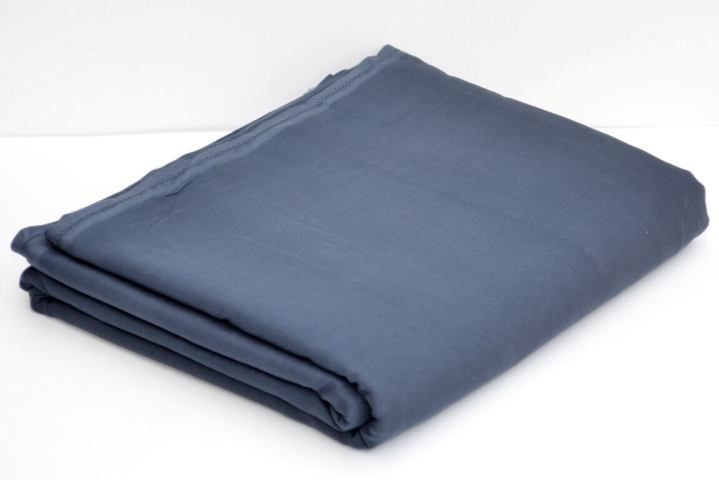 Buy Dark Grey Full Voile Fabric