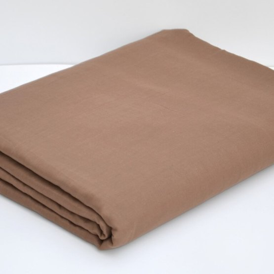 Buy Light Brown Color Full Voile Cloth