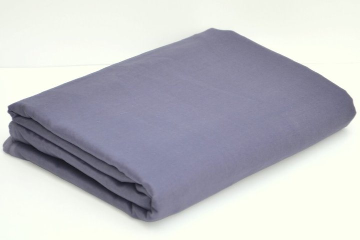 Light Slate Grey Full Voile Turban Cloth