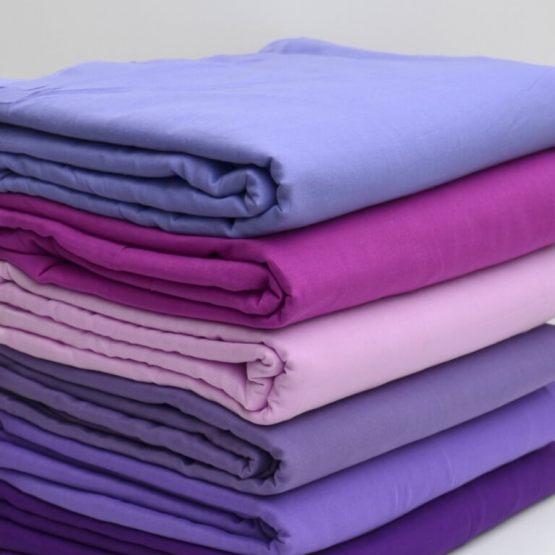 Violet & purple voile