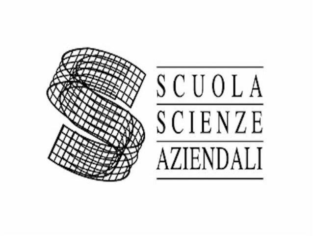 logo of the brand Scuola Scienza Aziendali