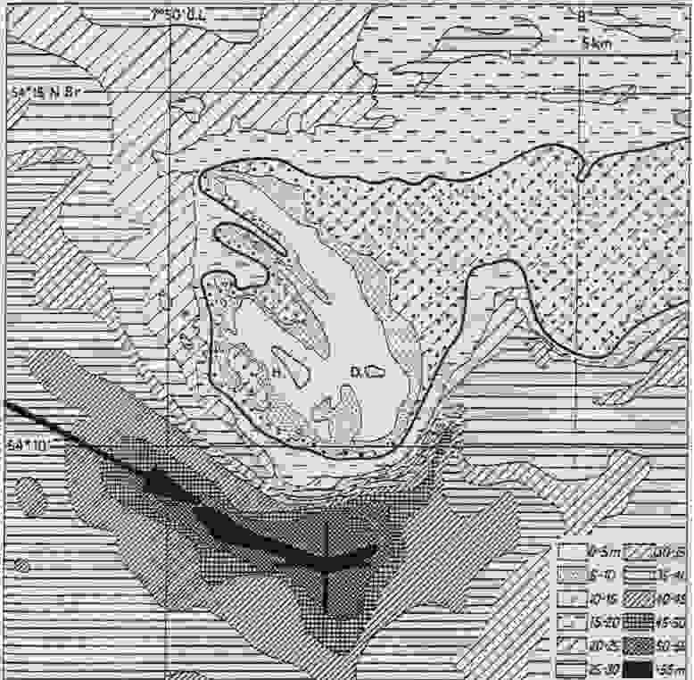 Morphologie des Helgoländer Seegrundes