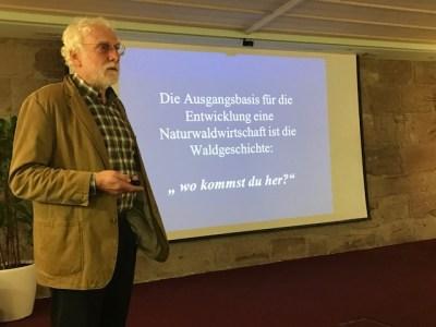 Martin Levin bei seinem Vortrag