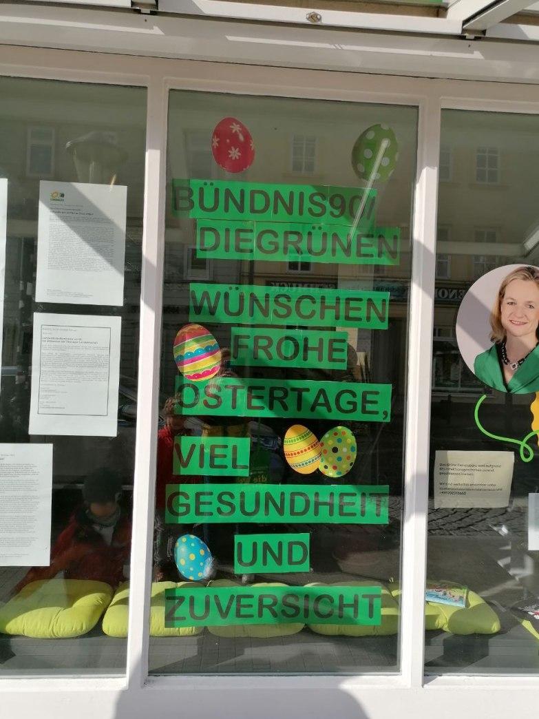 Europabüro im Osterschmuck