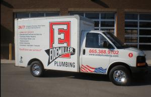 Eidemiller Plumbing truck