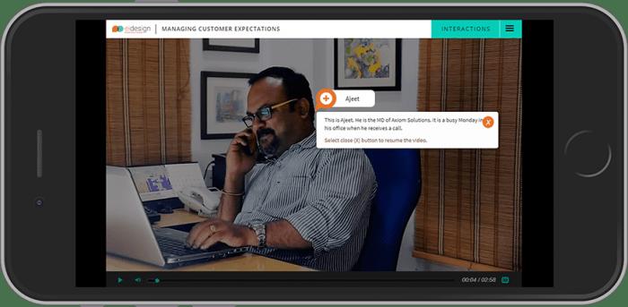 Skill Development Training Using Interactive Videos