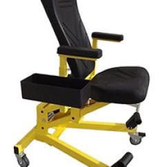 Chair With Kneeler Vibrating Infant Eidos Ergonomics Model 117 Aircraft Mechanics Creeper Adjustable Chair.htm