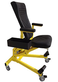 chair with kneeler gaming sale eidos ergonomics model 117 aircraft mechanics creeper adjustable chair.htm