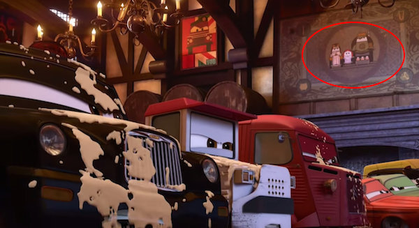 Pixar Hidden Easter Eggs & Secrets6
