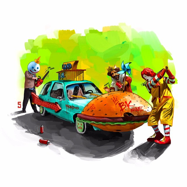 humorous-pop-culture-movie-vehicle-mashup-art-series4