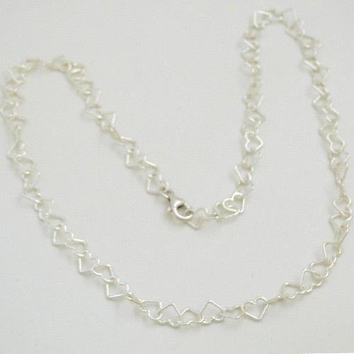 Silber Herzkette MX289