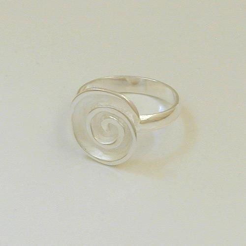 Silberring Spirale MXR452