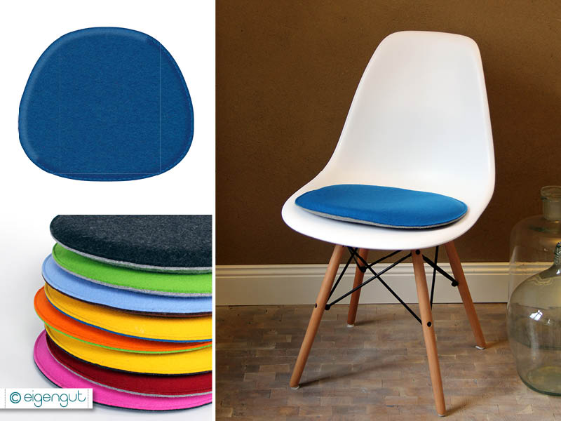Sitzkissen Eames Chair DSW DSR DSS Filz