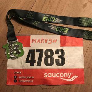 Medaille Halve Marathon Egmond