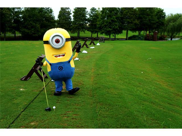 Kevin Minion Golfer