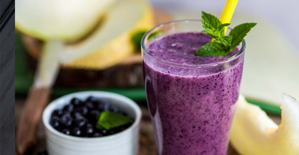 Crazy Blueberry Monster Smoothie