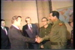 Saddam and Rumsfeld