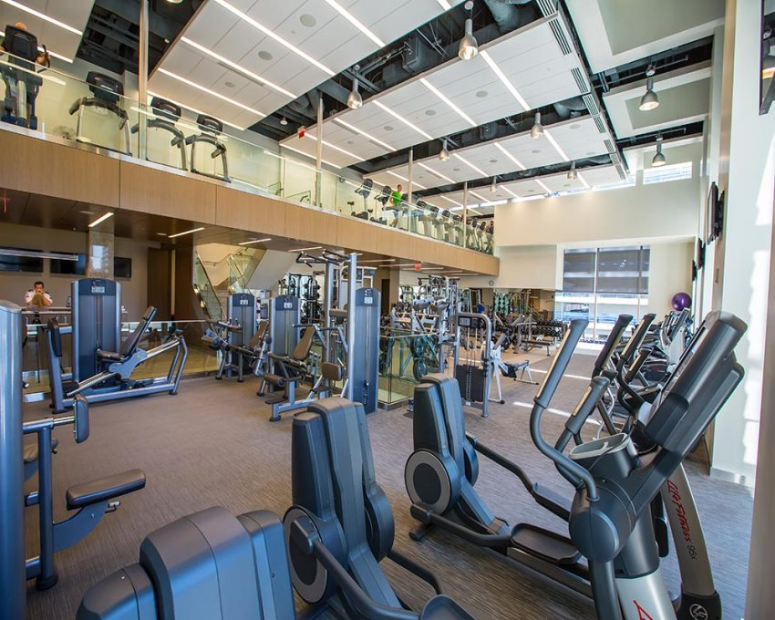 Fitness Centre Eighth Avenue Place