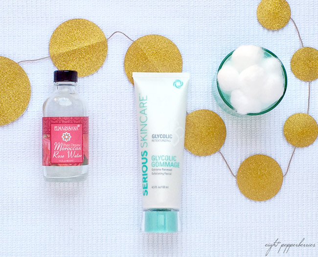 glycolic gommage mask, your routine for glowing skin