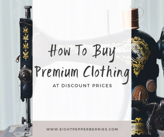 How To Buy Premium clothing At Discount Prices Using ThredUP >> Eight Pepperberries blog