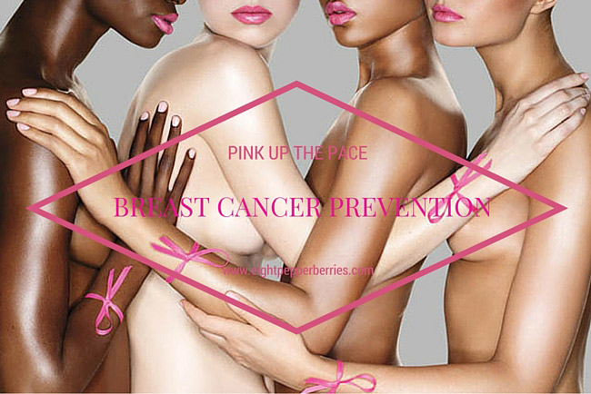 Visit www.eightpepperberries.com for Breast Cancer Awareness and Prevention Tips