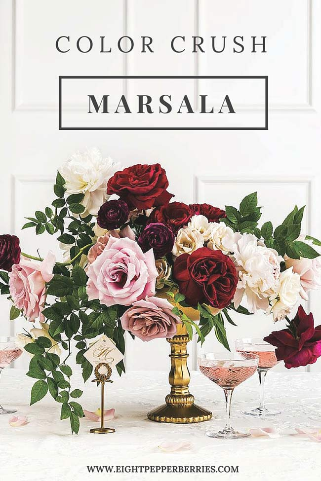 Color Crush - Marsala's Top 10
