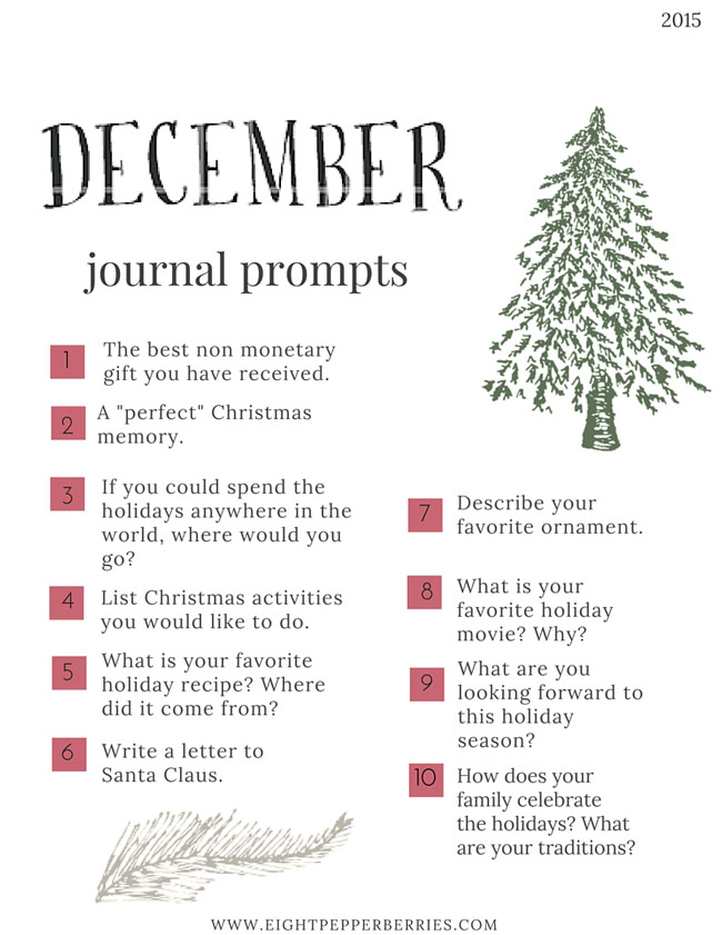 Journal Prompts No. 4 » Eight Pepperberries