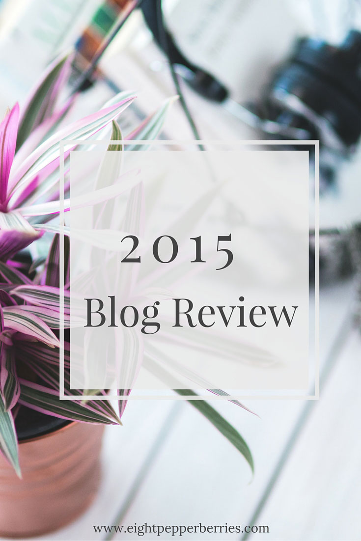 Eight Pepperberries Best Of 2015 Blog Review