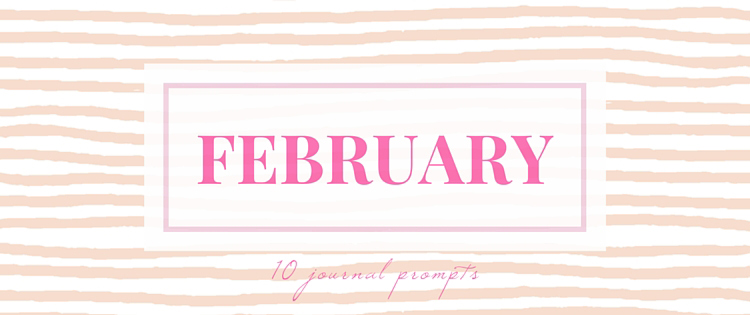 February Journal Prompts + overview of 'bullet journaling'. New prompts [pdf printable included] each month >> Eight Pepperberries