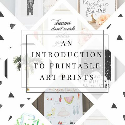 An Introduction To Printable Art Prints