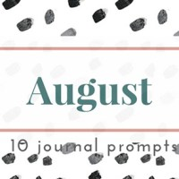 Journal Prompts No. 12