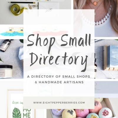 Shop Small || Directory Of Small Businesses & Makers