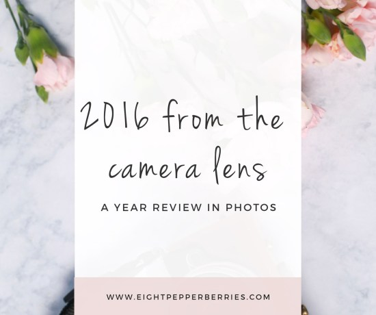 2016 through the camera lens + the best apps to capture your everyday moments >> Eight Pepperberries