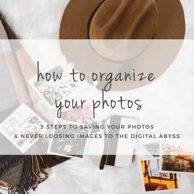 Cherished Memories: How To Organize Photos