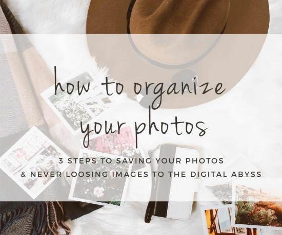 How To Organize Your Photos: 3 Steps To Less Photo Reel Overwhelm. Organize Your Photos Quickly & Find Them Easily In The Future >> Eight Pepperberries