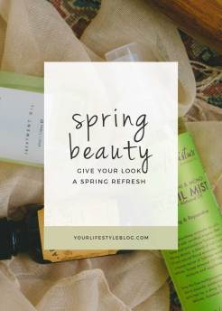 Spring Beauty Finds || Freshen up your look with these beauty products for eyes, lips, face & body >> Eight Pepperberries