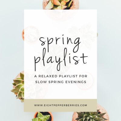 Spring Playlist (Listen On Spotify)