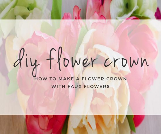 DIY Faux Flower Crown Tutorial >> www.eightpepperberries.com/diy-faux-flower-crown/