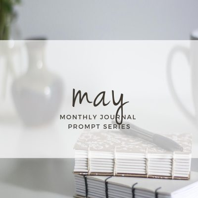 May 2017 Journal Prompts. New prompts released the beginning of each month >> www.eightpepperberries.com